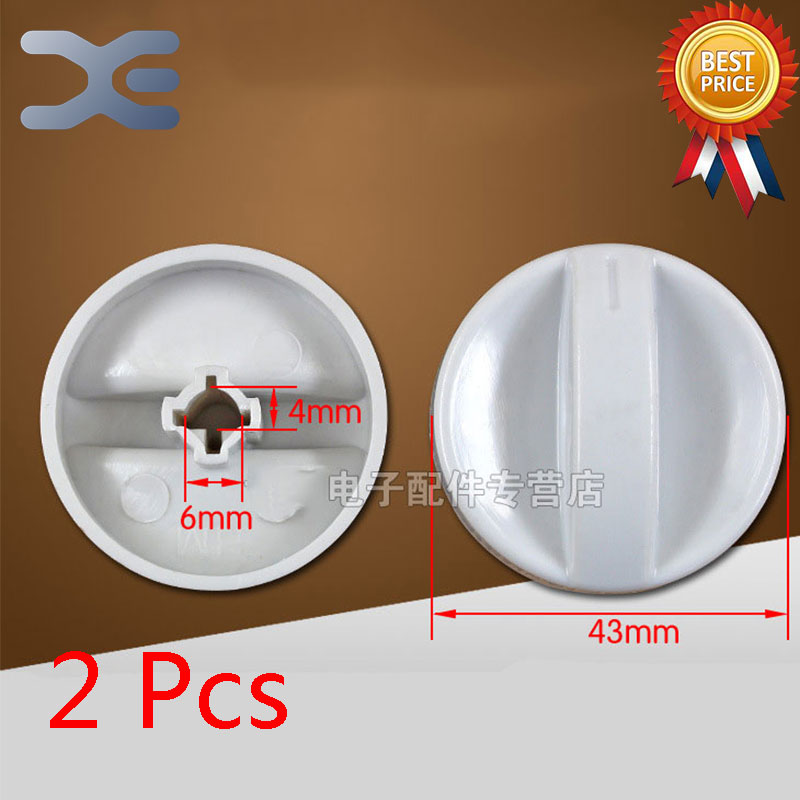 2Pcs Microwave Oven Timer Oven Knob Microwave Spare Parts Shaft Height 18mm