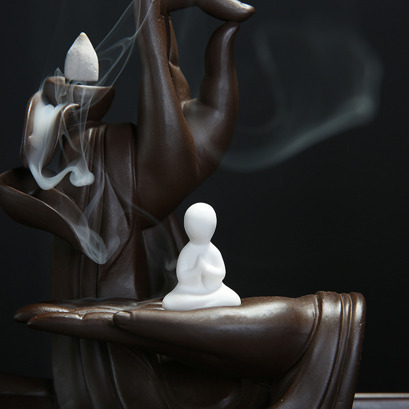 Buddha Hand Incense Burner - Instantly Awaken 7 Chakras 2