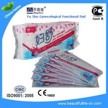 10 коробок = 100 шт. Fushu Pad Анион Гигиенические салфетки, прокладки для дрожжевой инфекции Гинекологические колодки