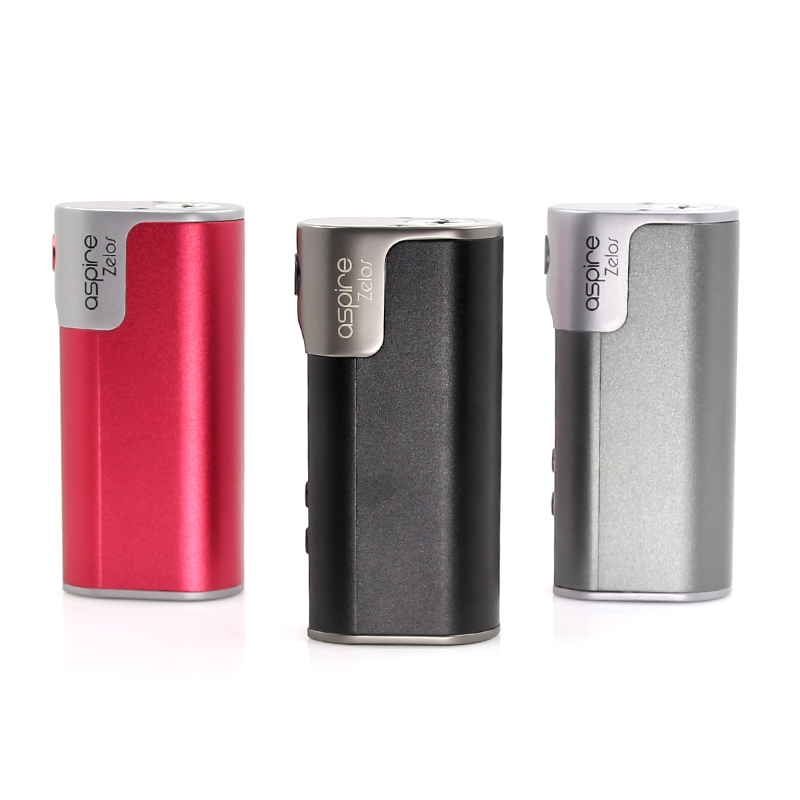 Original electronic cigarette Aspire Zelos Box Mod 55w built in 2500 mAh Li-Po battery fit 510 thread atomizer RDA RBA vape tank original electronic cigarette smoant charon ts 218 box mod 510 thread 18650 battery 218w vape mod electronic cigarette vaporzier