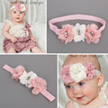 Flores niña diadema diademas newborn fotografía atrezzo bandeau bebes chic filles acessorio cabelo diademas menina