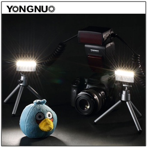 Image 2 - Yongnuo YN 24EX الماكرو حلقة فلاش speedlite مع 2 رئيس 4 محول خواتم لكانون كاميرا فلاش