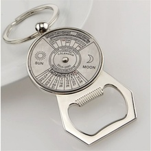 50-Year Perpetual Calendar Keychain