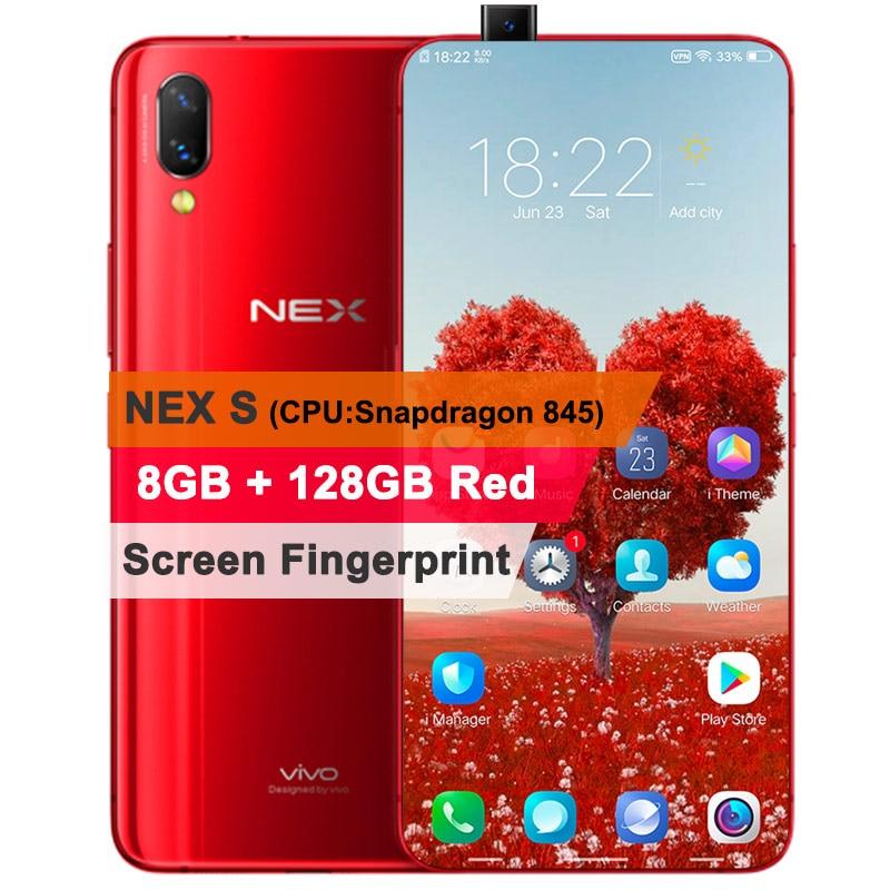 US $532 99 20% OFF|Original Vivo NEX Mobile Phone 6GB/8GB RAM 128GB ROM  Octa Core 6 59