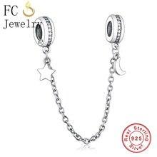 ccb5bf0e84a1 Compra pandora charms 925 original safety chain star y disfruta del ...