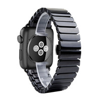 For Apple Watch 42mm 38mm Band Luxury Ceramic Bracelet Watch Band Strap Replacement Wrist Band For iWatch & Sport & Edition