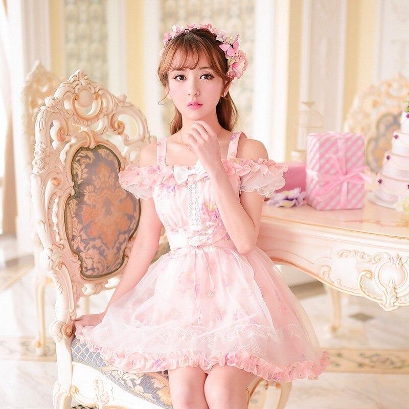 Candy Rain Princess Sweet Lolita Dress Summer New Japanese -2597