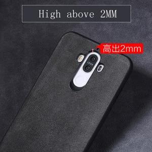 Image 4 - Wangcangli marka wszystkie ręcznie robione oryginalne futro telefon etui na Huawei Honor V10 wygodny w dotyku All inclusive etui na telefon