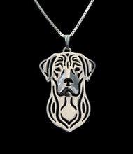 Ожерелье для собаки Лабрадор ретривер ручной работы резной полый