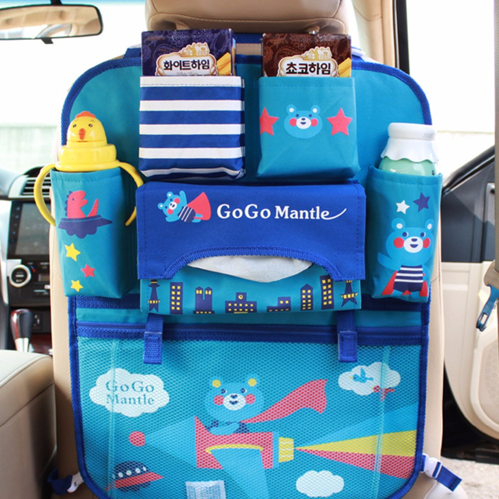 Storage Stroller Accessor Waterproof Multifunctional Universal Baby Stroller Bag Organizer Baby Hanging Basket Stroller Seat