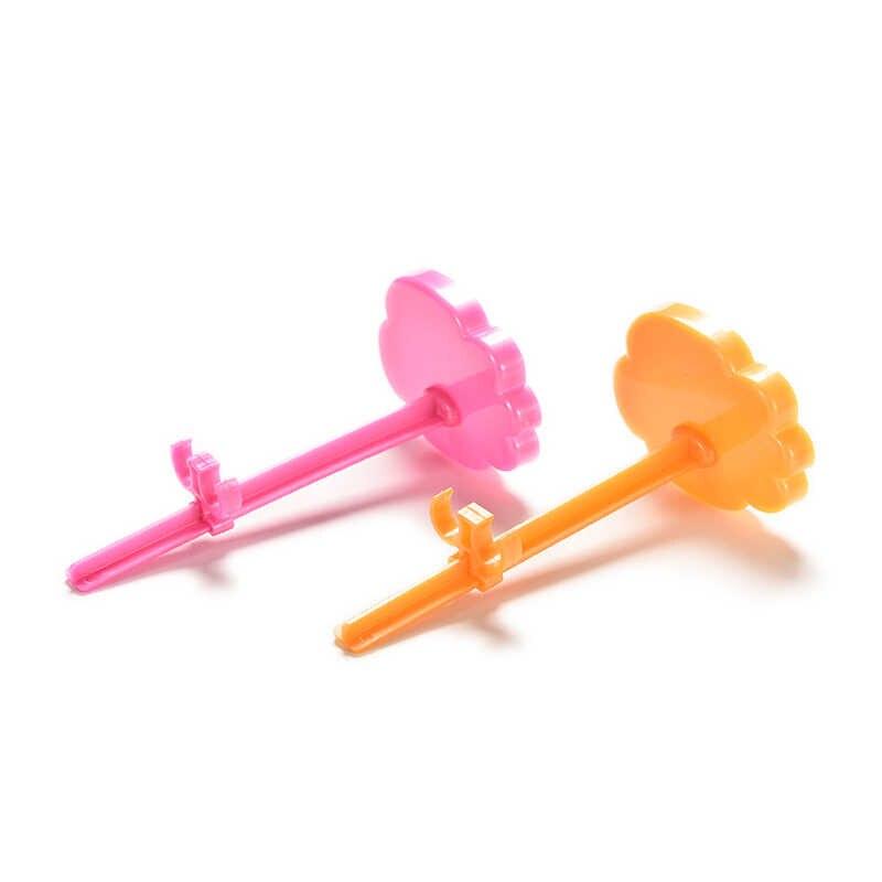 玩具はモデル支持フレームのプロップアップマネキンモデル表示ホルダー人形アクセサリーピンクオレンジ色