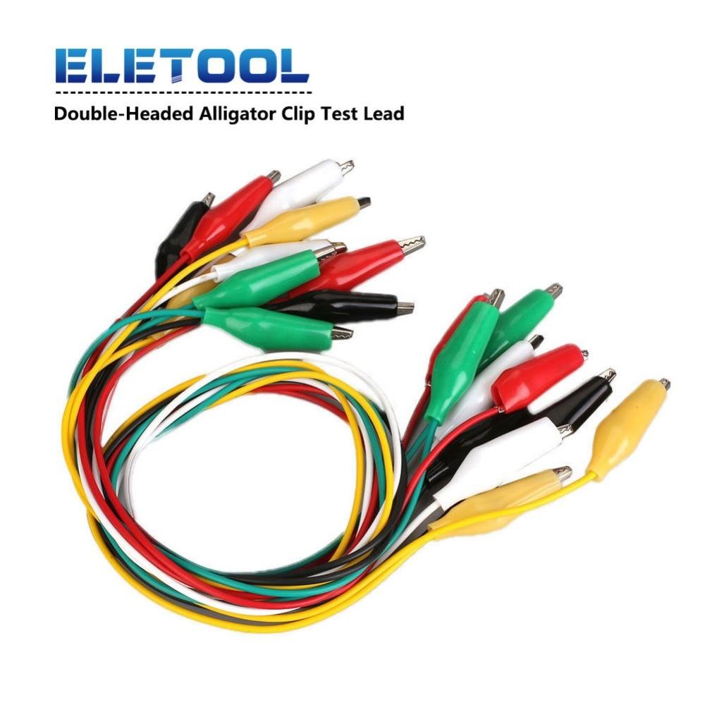 Multi color Mueller BU-00286 Alligator Lead Set Insulated 5 Leads