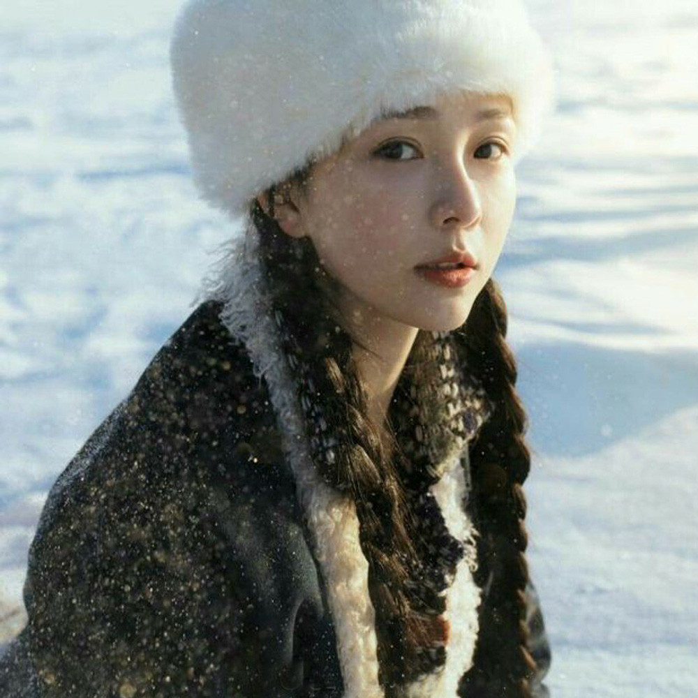 Fashion Women Winter Hat Keep Warm Faux Fur Headgear For Daily Wearing Snow Hat Cap