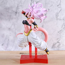 Dragon Ball Z Android 21 Senhora Buu PVC Action Figure Toy Model Collection(China)