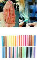 36 Pcs Temporary Color Hair DYE Soft Pastels Chalk Salon Non Toxic Fashion