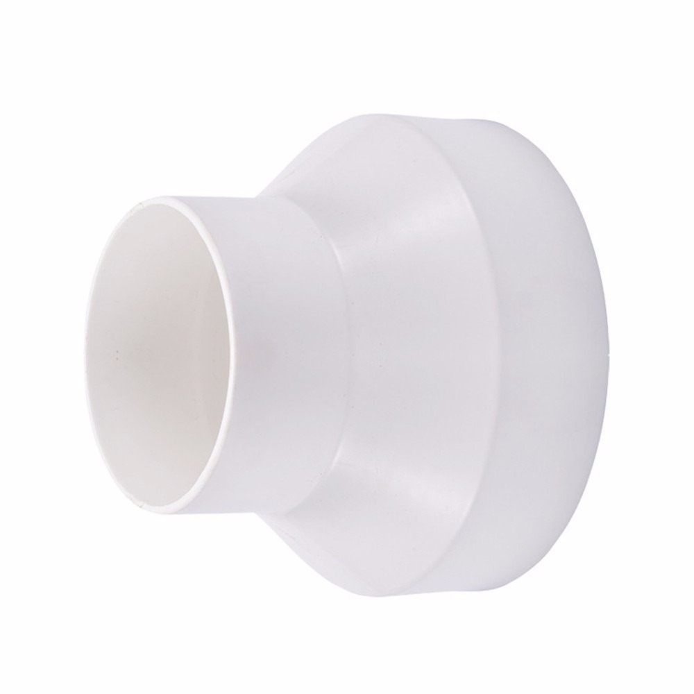 Hon/&Guan Straight Ducting Reducer Adaptor for Extractor Fan 200mm to 150mm