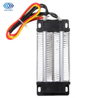 Elektrische Keramik Thermostat PTC Heizelement 12 V 200 Watt Heizung Isolierte Lufterhitzer 120*51*26mm haushalt