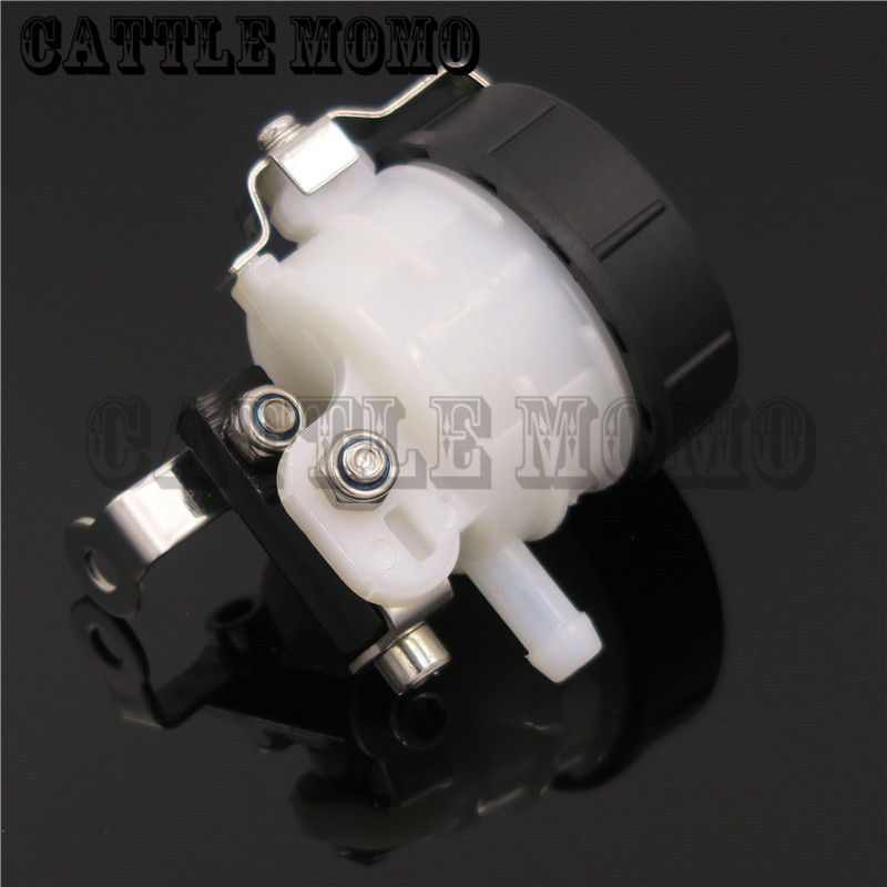 Universal Motorcycle Brake Fluid Reservoir Clutch Tank Oil Cup For Triumph Aprilia Ducat ...