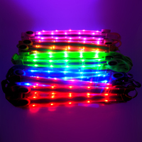 LED Horse Harness Breastplate Nylon Webbing Night Visible Horse Riding Equipment Racing Cheval Equitation