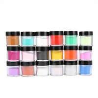 BGVfive8 цветов акриловая УФ-Полировка набор для украшения пудра для ногтей Набор для ногтей