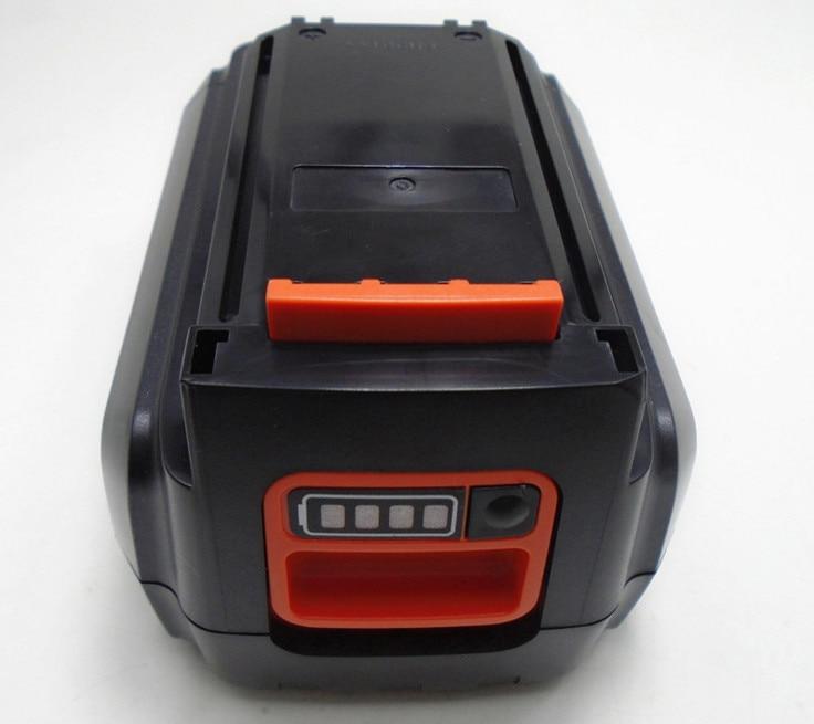 LED Indicator 40V Li-ion 1.5AH 1500mah Power Tool Battery for Black&Decker LBX2040 LBXR36 power tool battery b&d 36v li ion 3000mah lbx36 lbxr36 bxr36 lst136 lst420 lst220 lst400 lst300 mtc220 mst1024 mst2118 cst1200