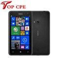Оригинальный Nokia Lumia 625 Разблокирована двухъядерный 1.0 ГГц 8 ГБ Win8 OS 4.7 ''МП Windows Phone 8 Смартфон восстановленное