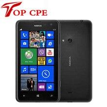 Оригинальный nokia lumia 625 разблокирована двухъядерный 1.0 ГГц 8 ГБ win8 os 4.7 »мп windows phone 8 смартфон восстановленное