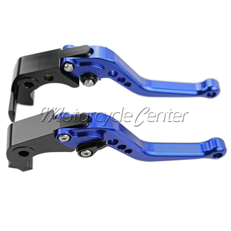CNC Short Brake Clutch Levers For Buell XB12R XB12Ss XB12Scg XB 12R 12Ss  12Scg X1 S1 Lightning M2 Cyclone Blue Adjustable Lever-in Levers, Ropes &