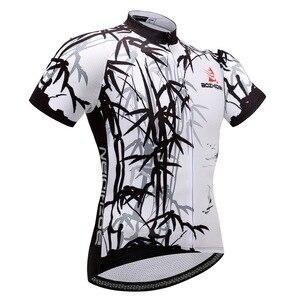 Image 5 - 새로운 도착 스트레치 여름 사이클링 저지 스트랩 턱받이 반바지 키트 통풍 로파 ciclismo 사이클링 의류 남성 여성 wkh00008