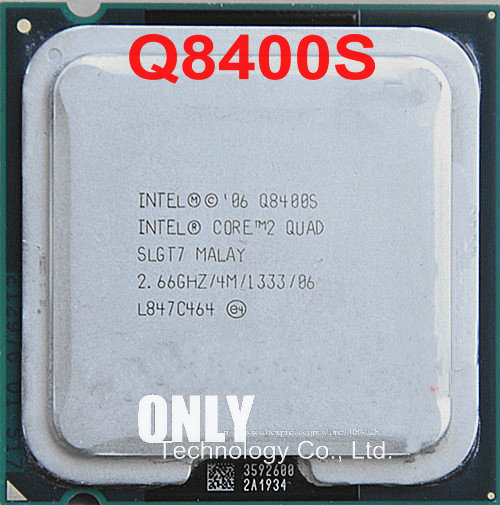 Intel Core2 Quad Processor Q8400S (4M Cache, 2.66GHz, ) 65W LGA775 Desktop CPU 100% working properly Desktop Processor-in CPUs from Computer & Office