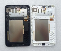 Black White Full LCD Display Monitor Touch Screen Digitizer Sensor Panel Glass Assembly Frame For Lenovo