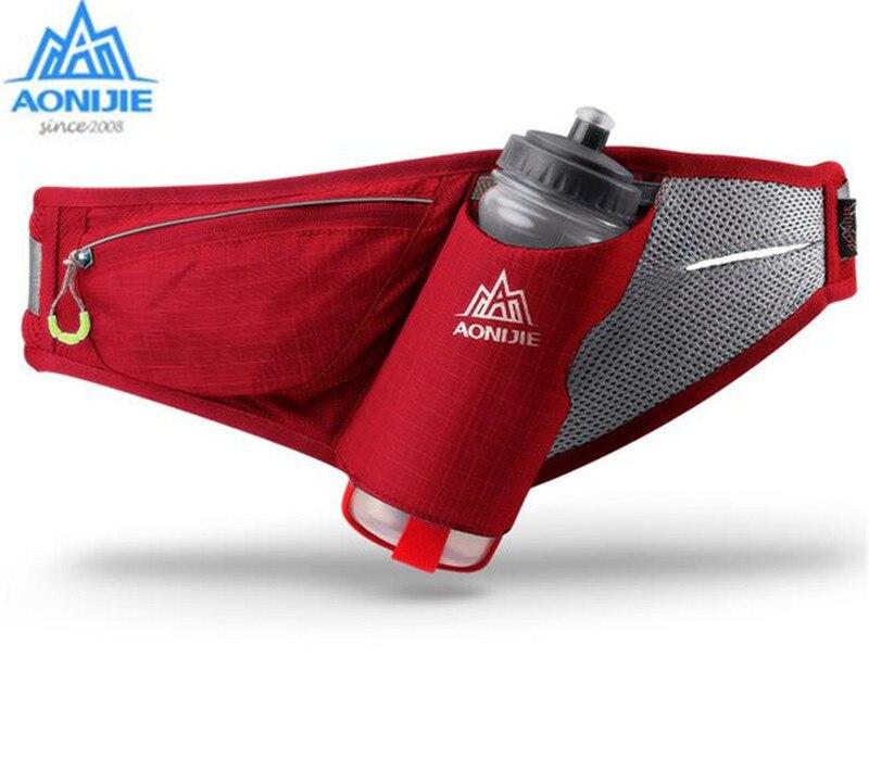AONIJIE Sport Bag Marathon Running Free Running Accessories Water Belt Fanny Pack Men Women Waist Packs Running Accessories