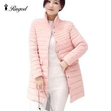 Casual Ultralight Down Coat Women Winter Long Sleeve Parkas Autumn Women's Down Jackets Slim Long Thin Coats Female Outwear