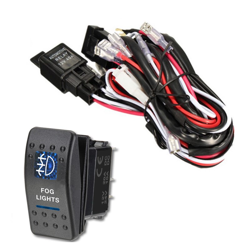Universal Wiring Harness Led Lights In Addition Fog Light Relay Wiring