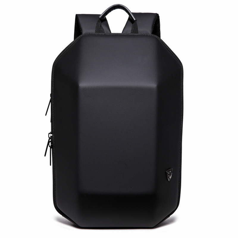 2018 New Designed 3D ABS Shell Backpack Simple Pure Color Computer Backpack Novelty Student Bag Men and Woman Travel Backpacks набор для путешествий brand new abs d 5 5 3 5 d ring backpack shackle