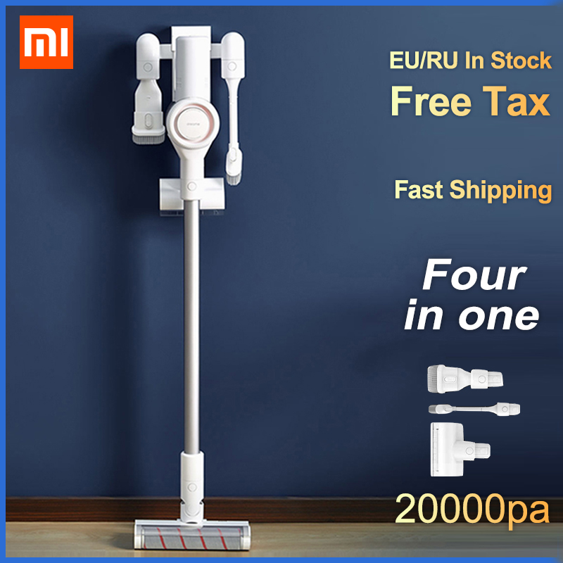 2019 original xiaomi dreame v9 vacuum cleaner handheld wireless cyclone cordless stick cleaner. Black Bedroom Furniture Sets. Home Design Ideas