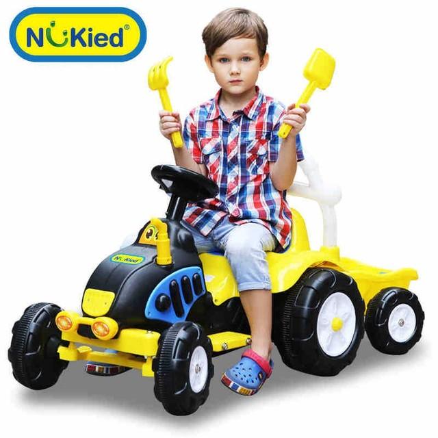 2017 de los nuevos niños coche eléctrico coche de juguete cochecito de bebé niño puede sentarse ride on cars