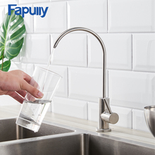 Copper Nickel Brushed Swivel Drinking Water Faucet 3 Way Water Filter Purifier Kitchen Faucets For Sinks Taps 247-33A цена и фото