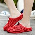 YIQITAZER 2017 Хорошие женские сандалии главная мужские любителей тапочки человек лето slipony женская вьетнамки мужчины обувь мул ман