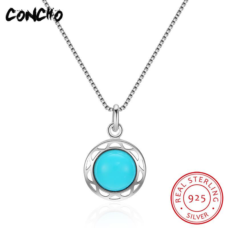 2018 Real Time-limited Pendant Necklaces Trendy Link Chain Party Colares Concho Jewelry 925 Sterling Round Necklace For Women цена