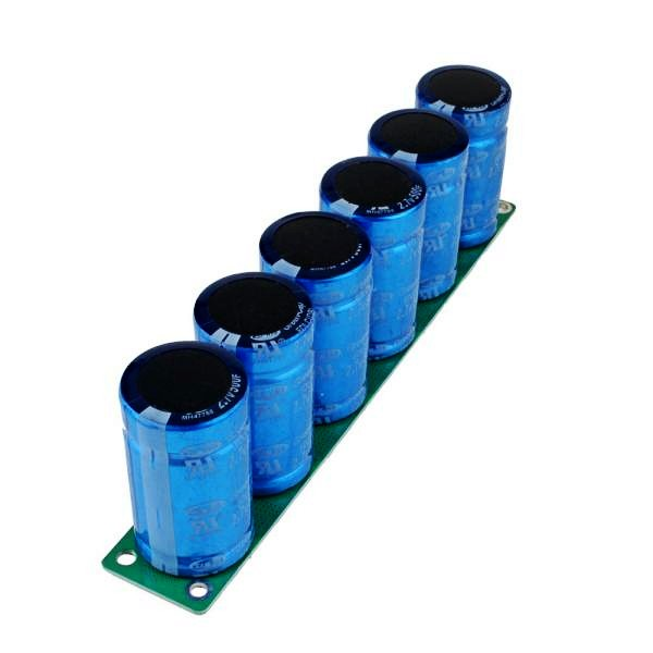 ФОТО NEW 1pcs Farad Capacitor 2.7V 500F 35*60MM Super Capacitor With Protection Board
