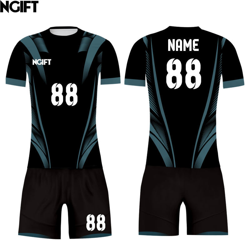 Ngift sublimated customize soccer jersey blazer football team uniform OEM logos name numbers customize