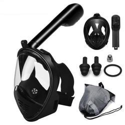 Подводный летние спортивные маска для подводного плавания анфас Подводное плавание маска Анти-туман Подводное плавание дайвинг маска для