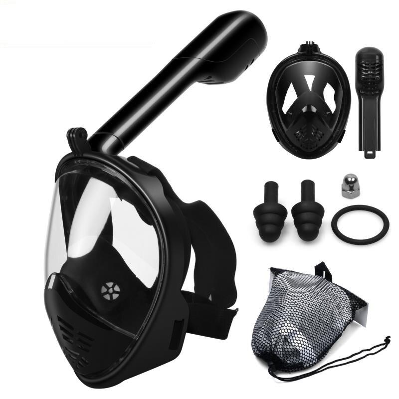 Bajo el agua de deporte de verano de buceo máscara de cara completa snorkel máscara Anti niebla snorkel máscara de buceo natación pesca submarina
