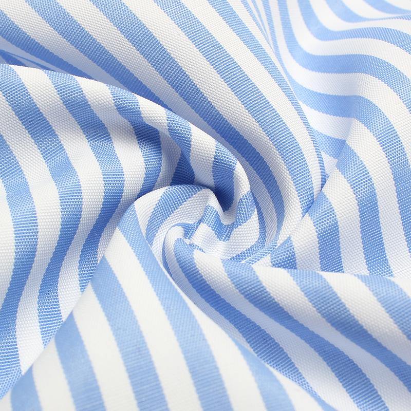 DeRuiLaDy 2017 Women summer Casual dress Ruffles V Neck Sleeveless high Waist Slim Blue Striped Dresses Sexy Backless Vestidos 15