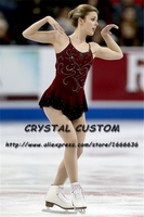 Children Ice Skating Dresses Graceful New Brand Competition Figure Skating Dress Custom DR3998