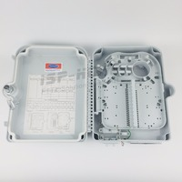10PCS/Carton of 24 port FTTH Fiber Optic Termination Box SC/LC adapter installation or Drop Cable Distribution Box