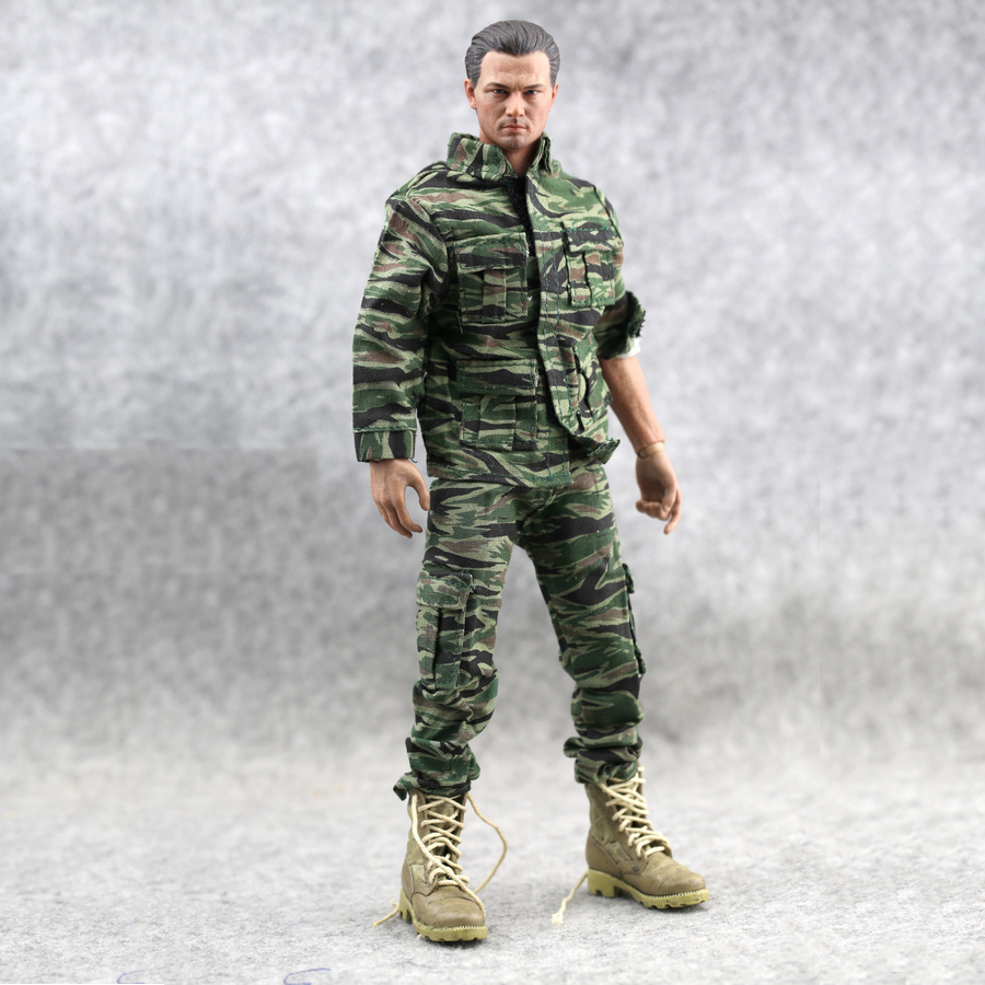 1 6 Scale Action Figure Male Military Us Soldier Jungle Fight