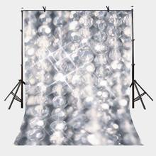 5x7ft Shiny Backdrop Pearl Necklace Photography Background and Studio Props