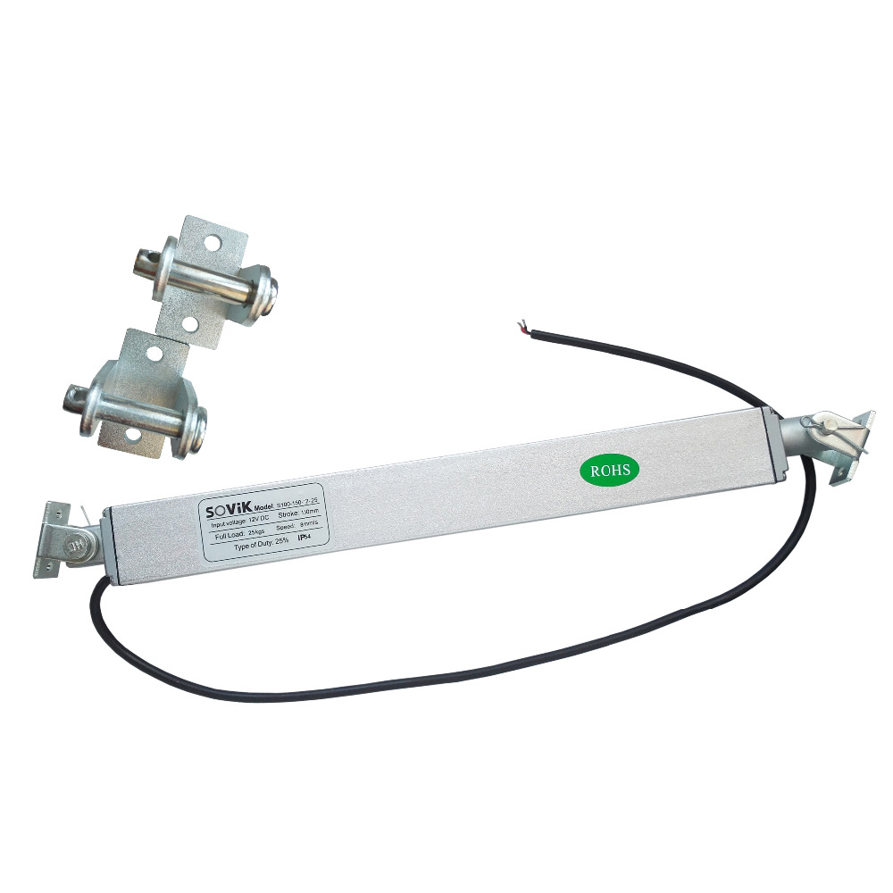 SOVik 150mm Stroke Mini Multi function Linear Actuator 12V DC 250N Max Lift Includes a Set